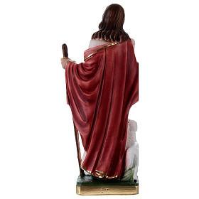 Gesù Buon Pastore 30 cm statua in gesso s4