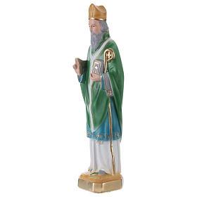 San Patrizio 30 cm statua in gesso s3