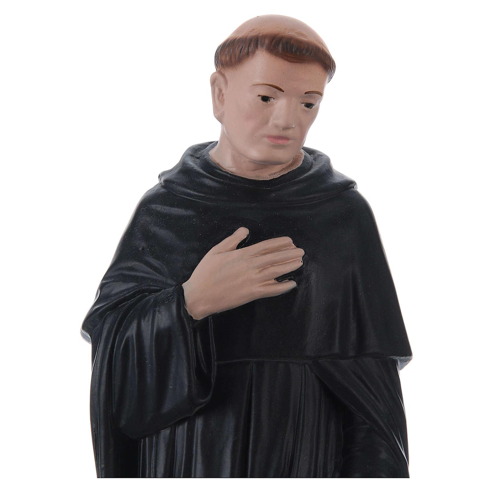 Estatua de yeso San Peregrino 30 cm 4