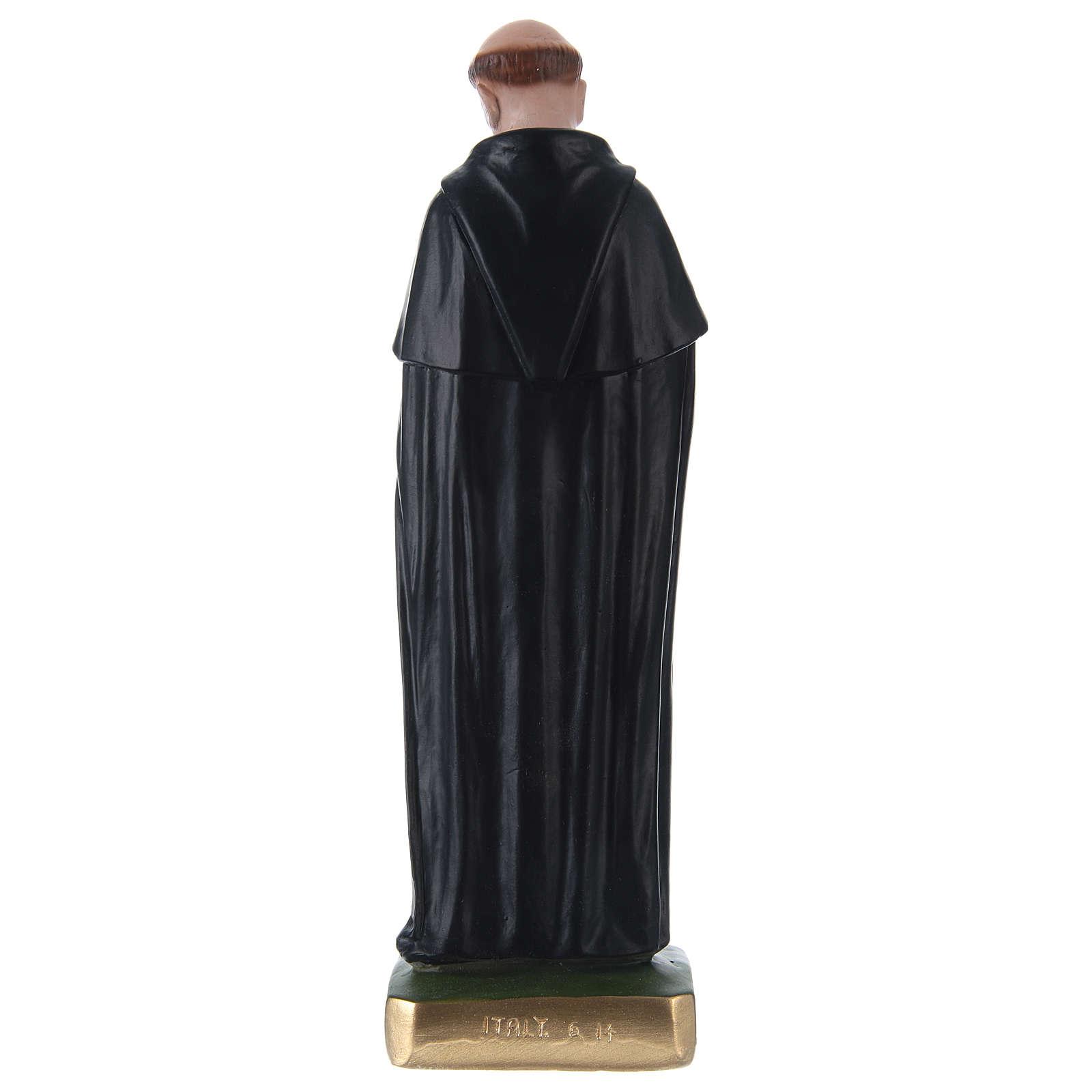 Statua in gesso San Pellegrino 30 cm  4