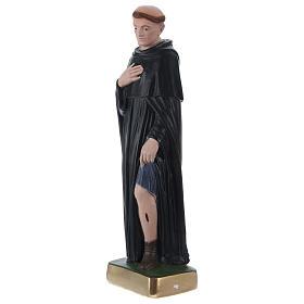 St. Peregrine Statue, 30 cm in plaster s3