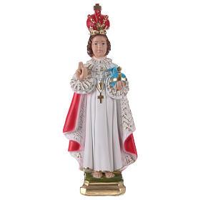 Imagens em Gesso: Imagem em gesso Menino Jesus de Praga 30 cm