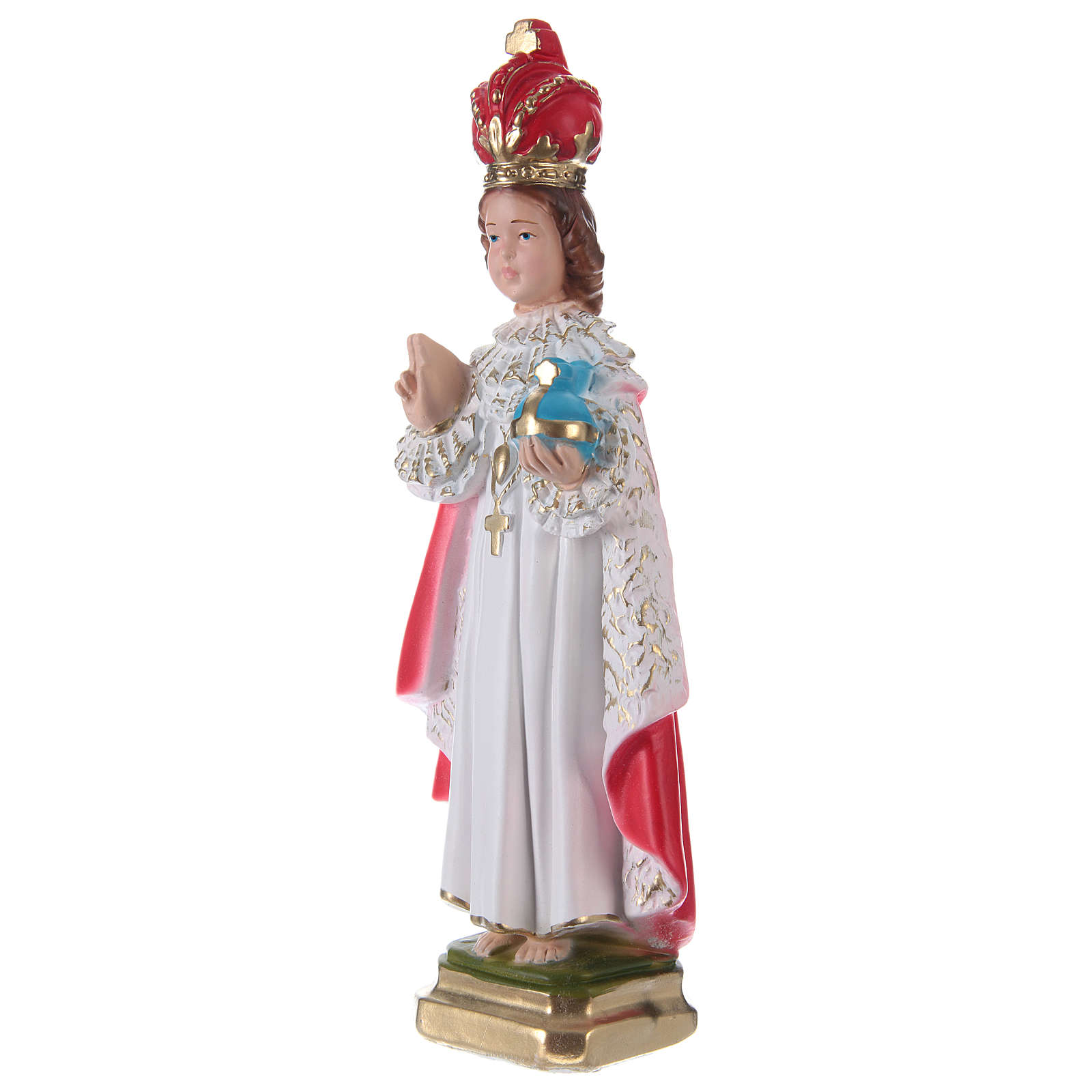 Infant of Prague Plaster Statue, 30 cm 4