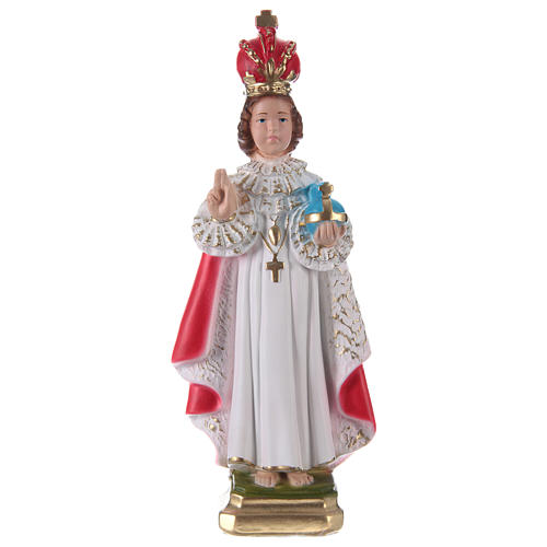 Infant of Prague Plaster Statue, 30 cm 1