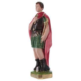 Santo Espedito 30 cm statua in gesso s3