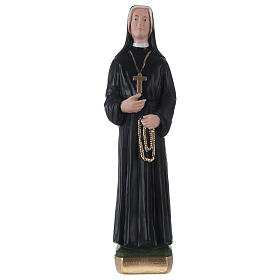 Sister Faustina 30 cm in painted plaster s1