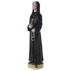 Sister Faustina 30 cm in painted plaster s3