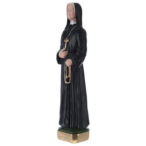 Sister Faustina 30 cm in painted plaster 3