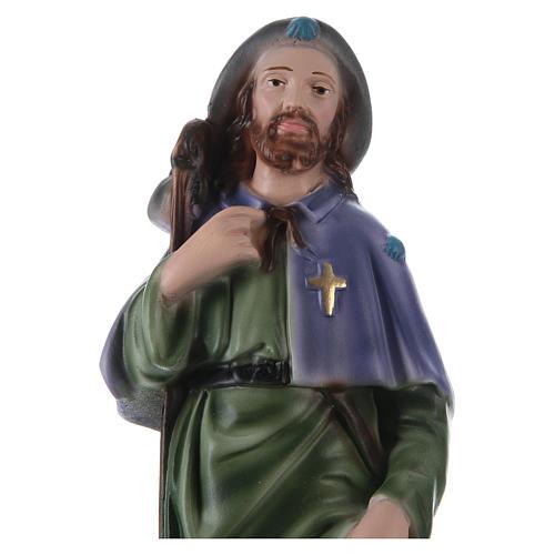 San Roque 30 cm estatua yeso 2