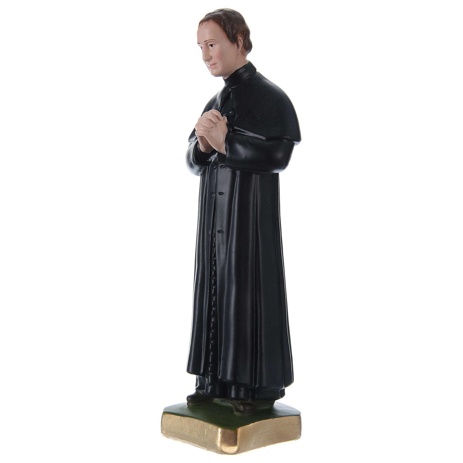 Estatua de yeso San Juan Bosco 30 cm 4
