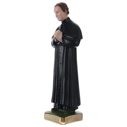 Estatua de yeso San Juan Bosco 30 cm 3