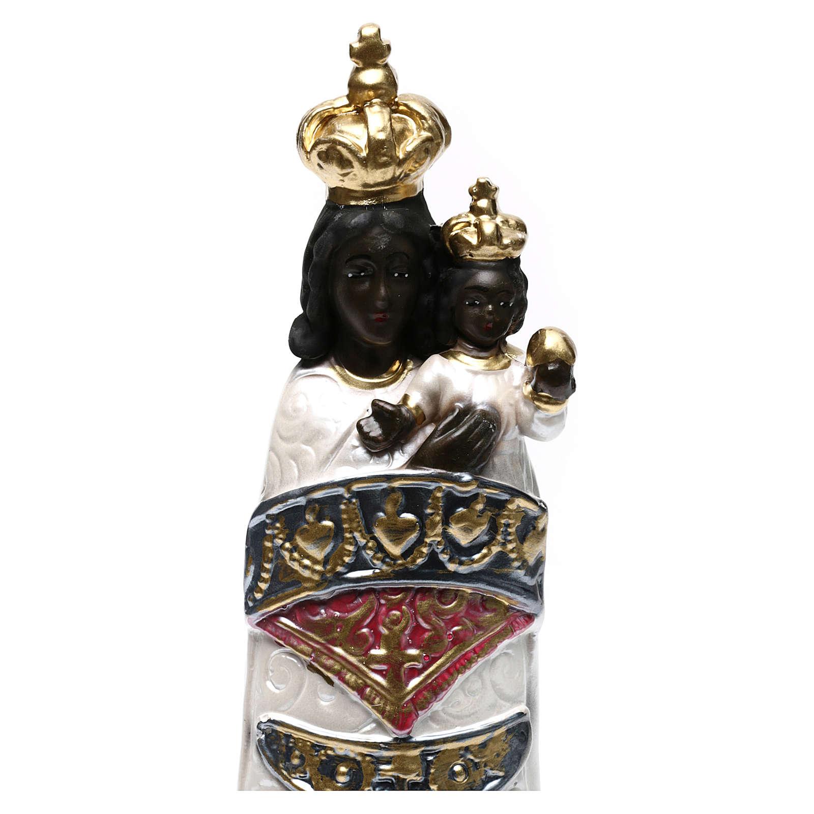 Virgen de Loreto 30 cm yeso nacarado 4