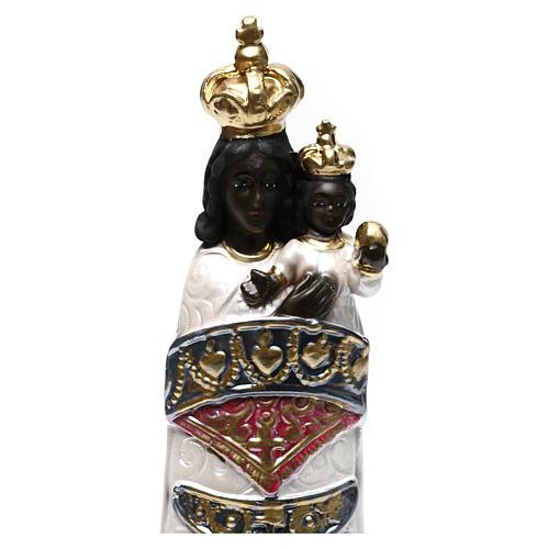 Virgen de Loreto 30 cm yeso nacarado 2