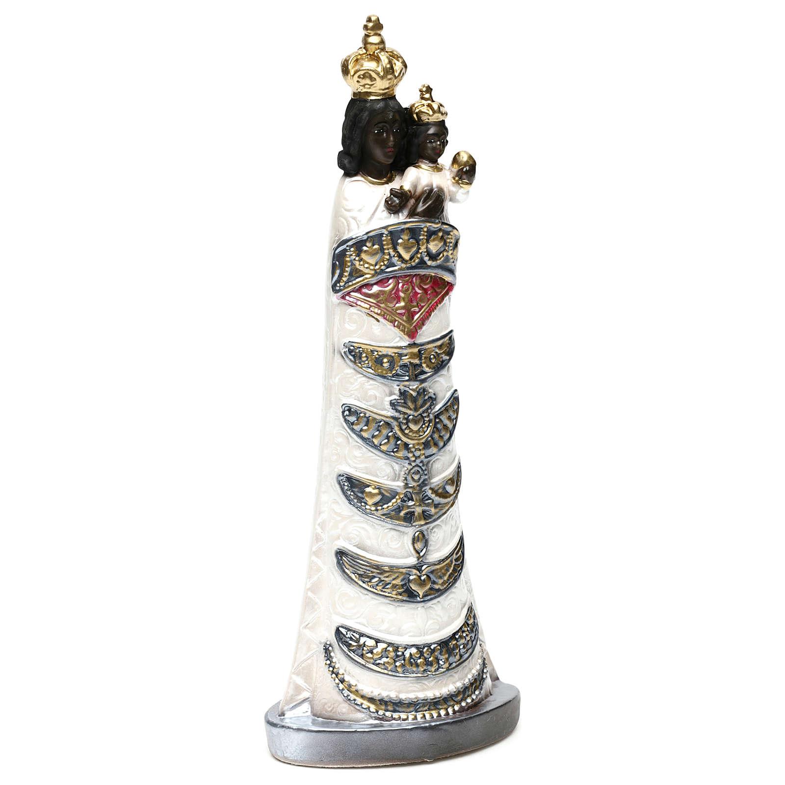 Madonna di Loreto 30 cm  gesso madreperlato 4