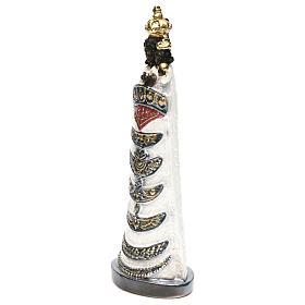 Madonna di Loreto 30 cm  gesso madreperlato s3