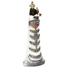 Madonna z Loreto 30 cm gips efekt masy perłowej s4