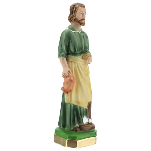 St Joseph the Worker 20 cm in painted plaster 3