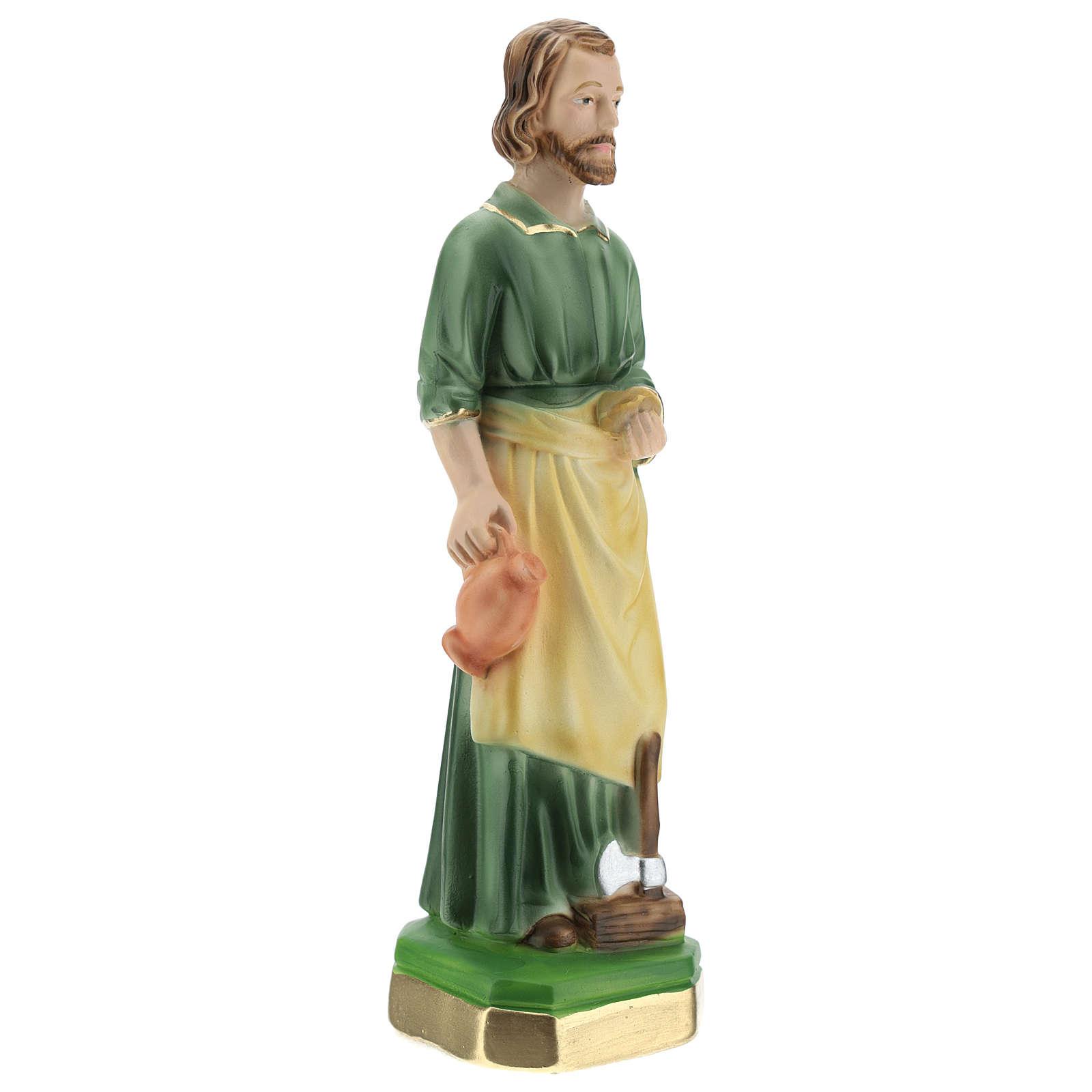 San José Trabajador 20 cm yeso 4