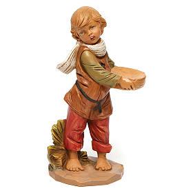 Statue per presepi: Ragazzo con cesto 30 cm Fontanini