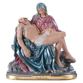 Statua in gesso Pietà 20 cm s1