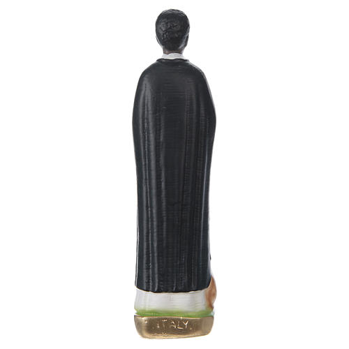 Saint Martin de Porres Plaster Statue, 20 cm, painted 5