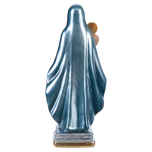 Our Lady of the Castle 15 cm cm pearlized plaster statue 5