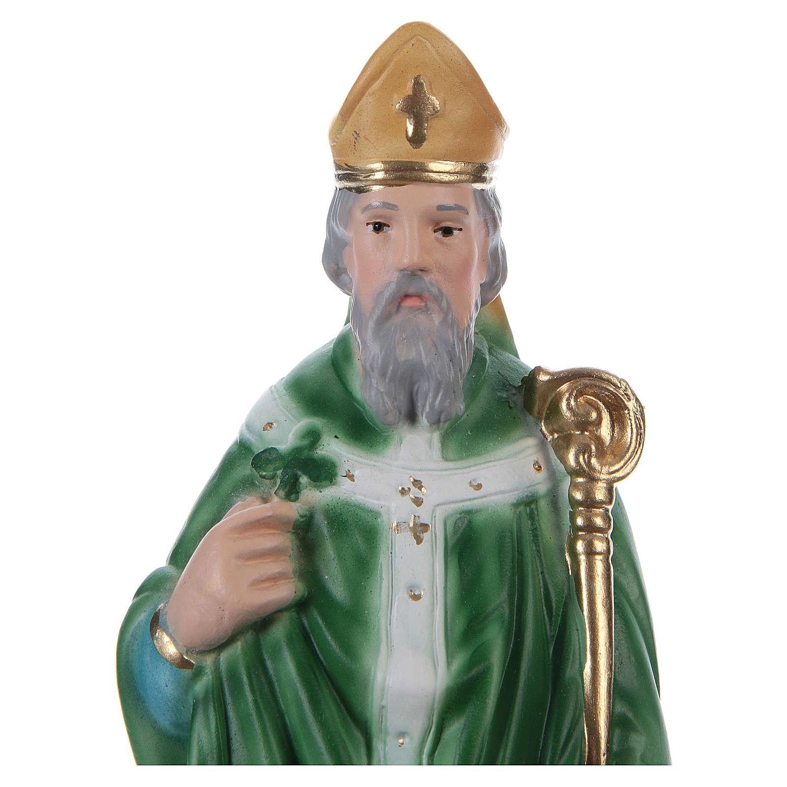 St Patrick 20 cm in plaster 4