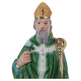 St Patrick 20 cm in plaster s2
