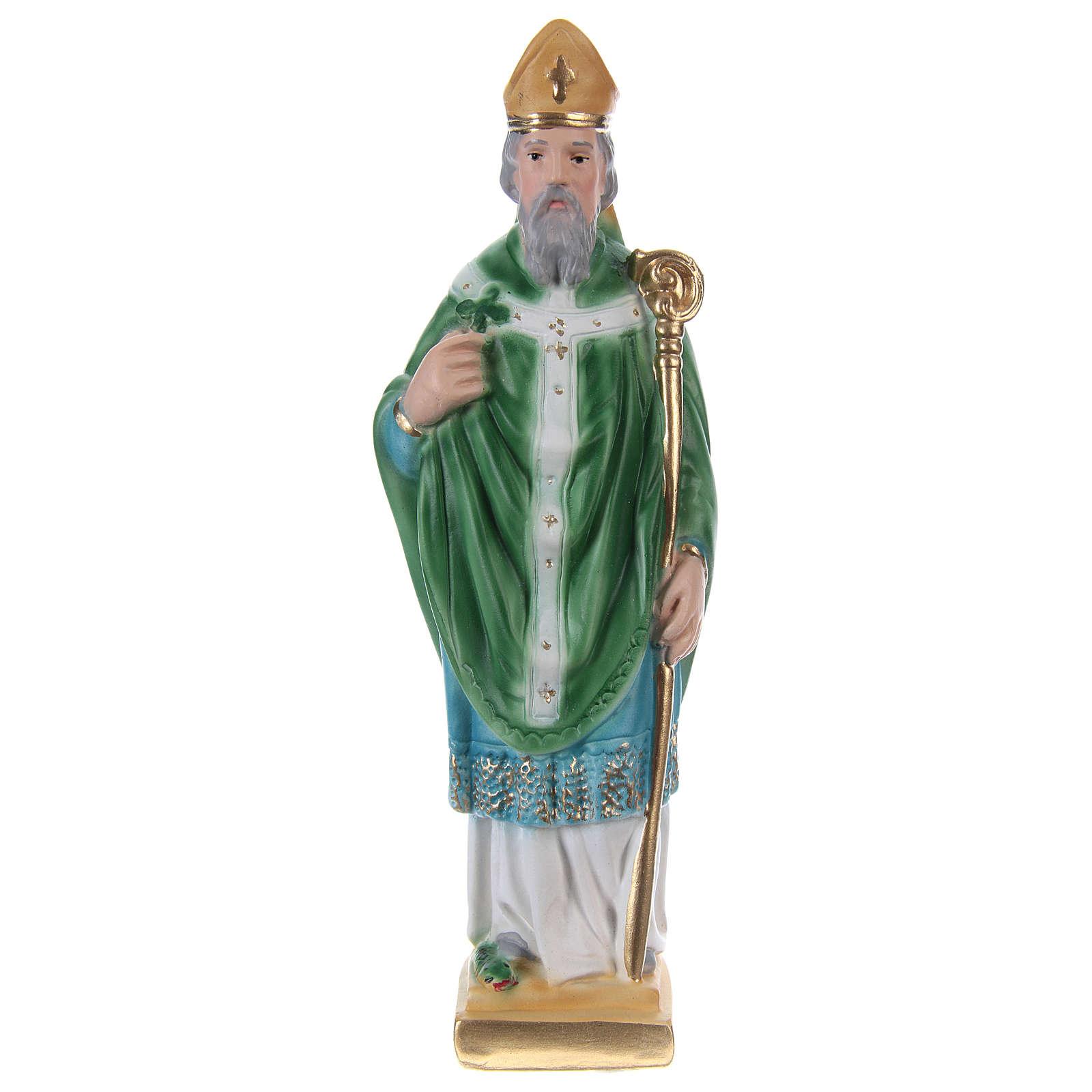 Saint Patrick Plaster Statue, 20 cm 4