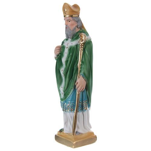 Saint Patrick Plaster Statue, 20 cm 3