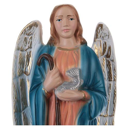 Święty Rafał 20 cm z gipsu malowanego 2