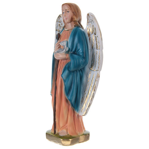 Saint Raphael Statue, 20 cm, in painted plaster 3