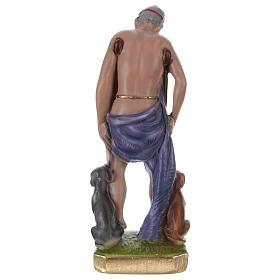 San Lazzaro 20 cm gesso dipinto s4