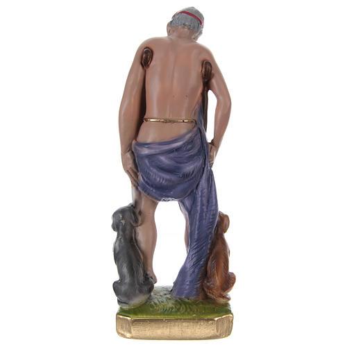 San Lazzaro 20 cm gesso dipinto 4