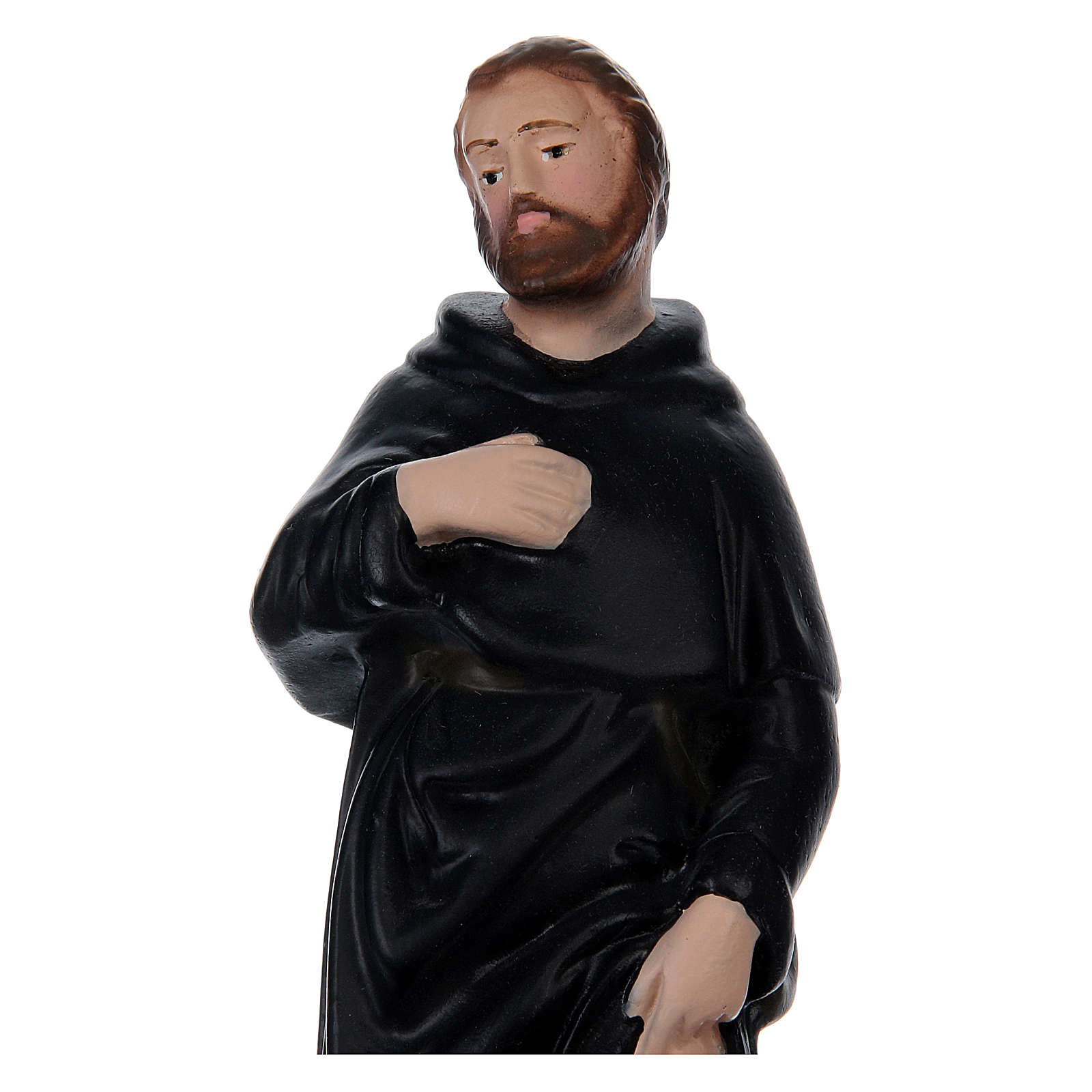 San Pellegrino 20 cm gesso dipinto 4
