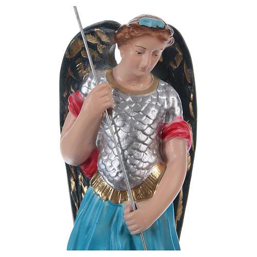 Święty Michał 20 cm gips malowany 2