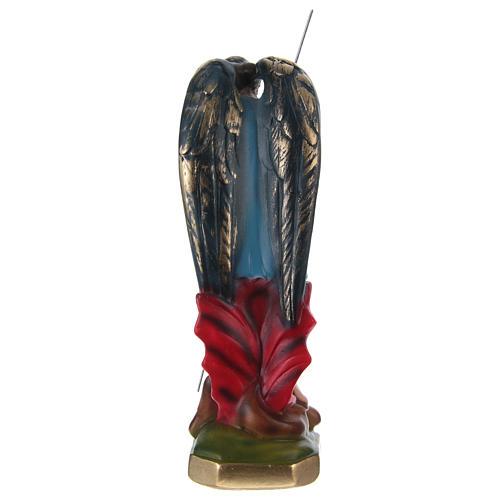 Święty Michał 20 cm gips malowany 4