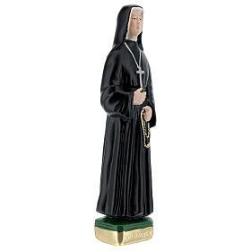 Statue en plâtre peint Soeur Faustine 20 cm s3