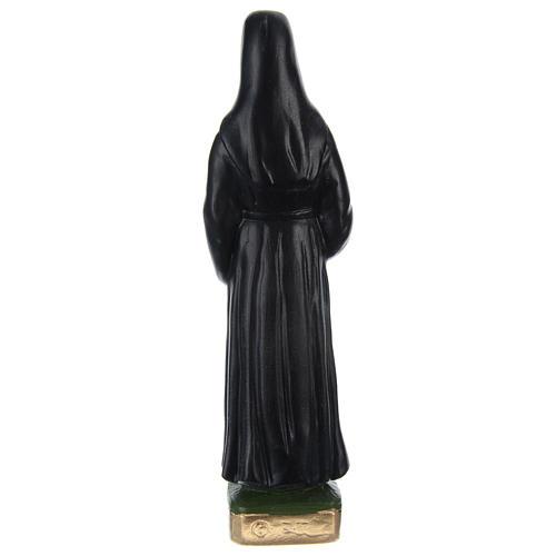 Statue en plâtre peint Soeur Faustine 20 cm 4