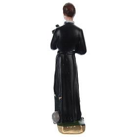 Saint Gerard 20 cm Plaster Statue s4