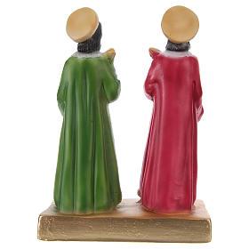 Cosma y Damián 20 cm estatua de yeso s4