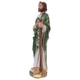 Estatua yeso San Judas 20 cm s3