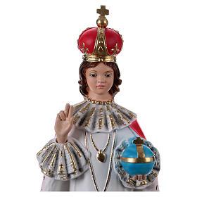 Enfant Jésus de Prague plâtre 40 cm s2