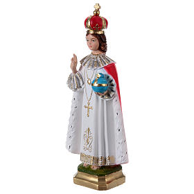 Enfant Jésus de Prague plâtre 40 cm s3