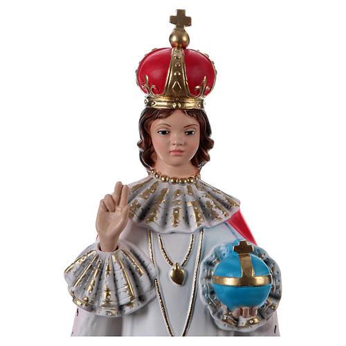 Enfant Jésus de Prague plâtre 40 cm 2