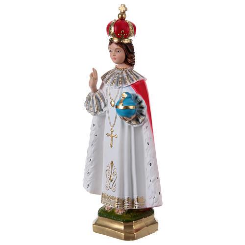Enfant Jésus de Prague plâtre 40 cm 3