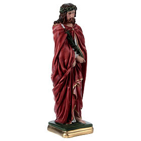 Ecce Homo 40 cm in mother-of-pearl plaster s4