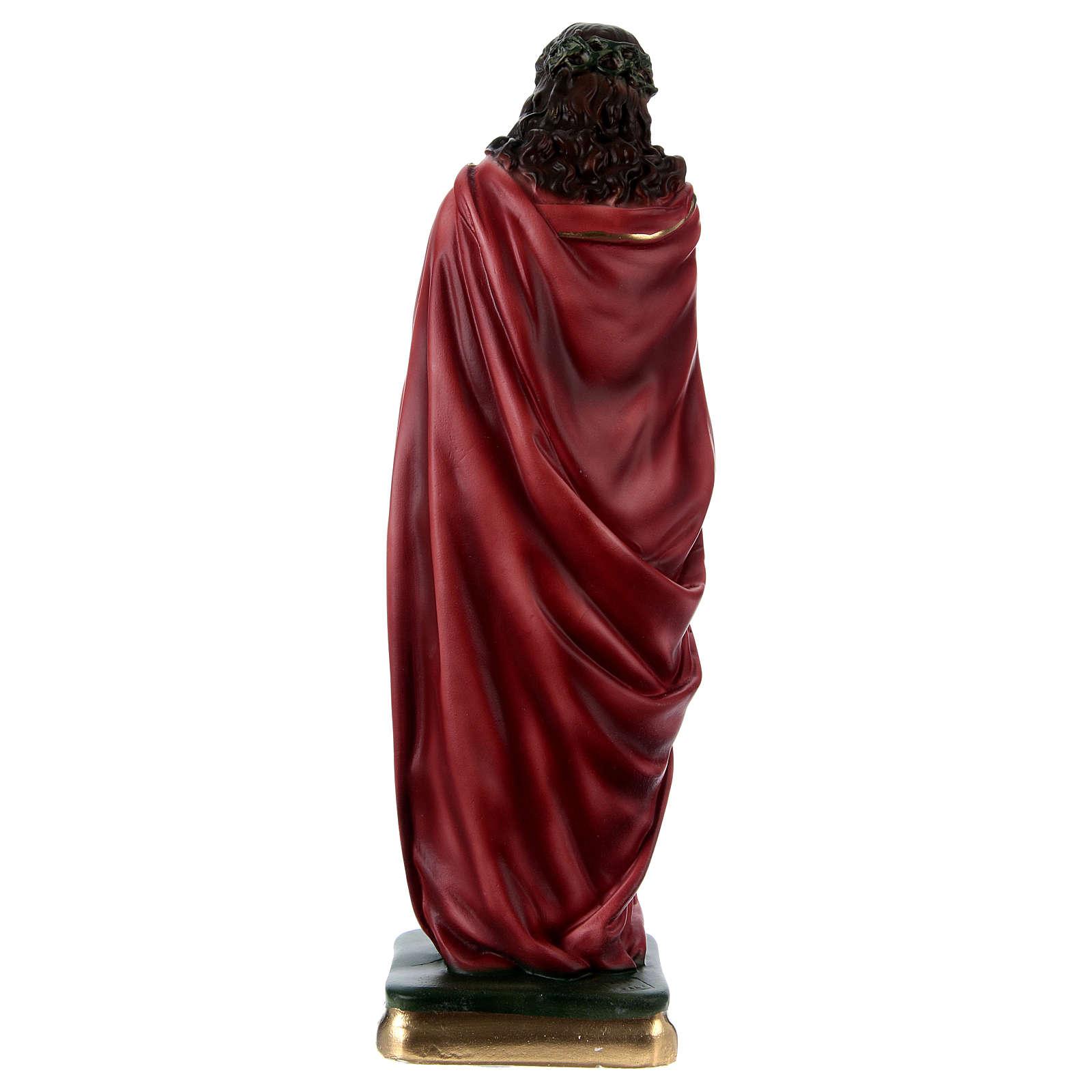 Ecce Homo Standing Statue, 40 cm in plaster 4