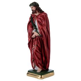 Ecce Homo Standing Statue, 40 cm in plaster s3