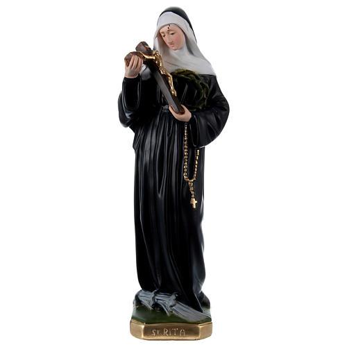 Santa Rita 50 cm estatua de yeso pintado 1
